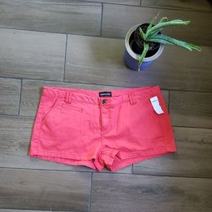 Express hot pink coral Bermuda shorts 12
